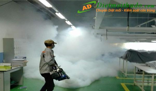 Dịch vụ kiểm soát côn trùng Ba Đình số 1 tại Hà Nội