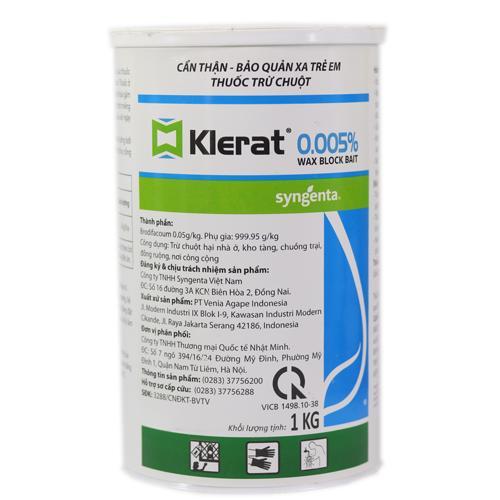 Thuốc trừ chuột Klerat